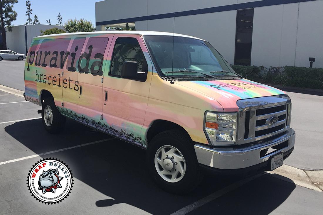 Custom Van Wrap. Cargo Van Wrap