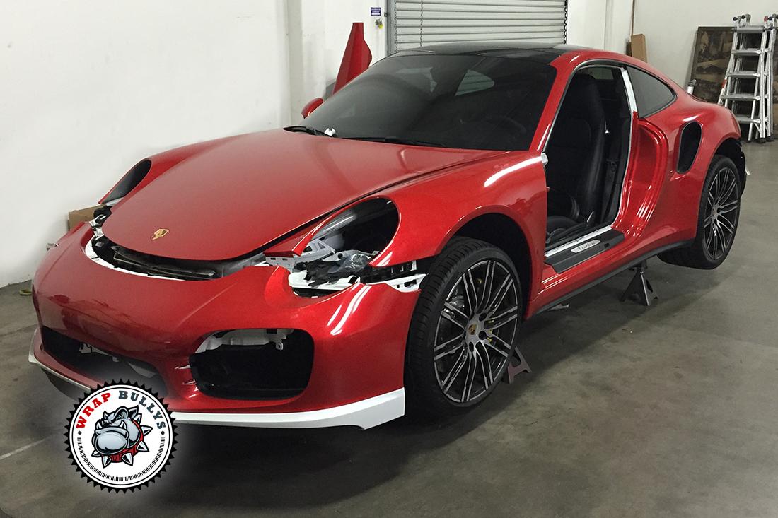 Porsche 911 Turbo Car Wrap