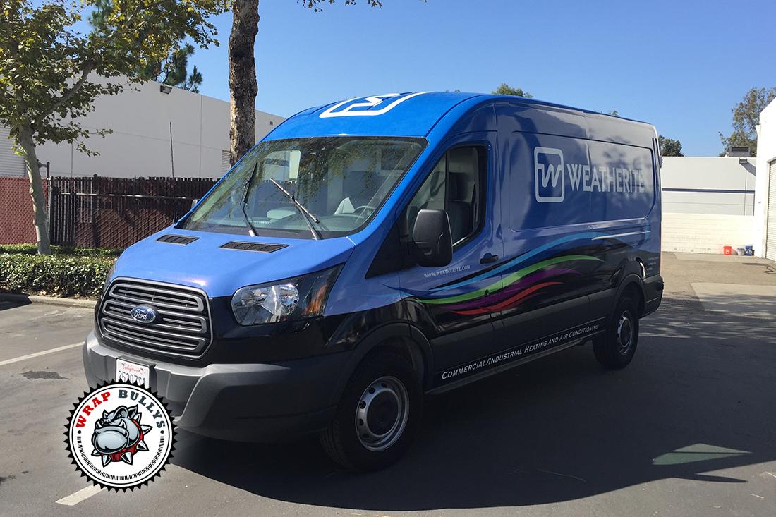 Weatherite Ford Connect Van Wrap | Vehicle Wrap