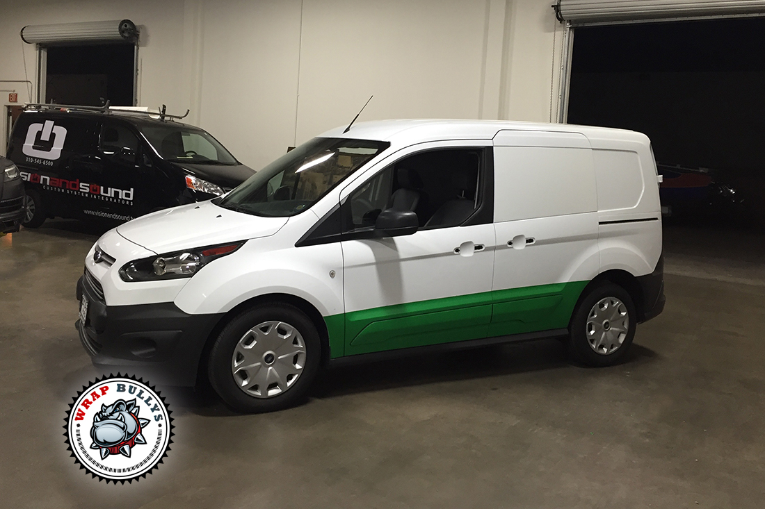 Custom Van Wraps. Design, Print, Install. Call today for pricing.